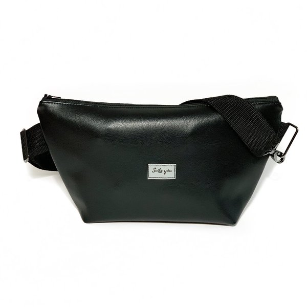 Bauchtasche Bälte L - All black